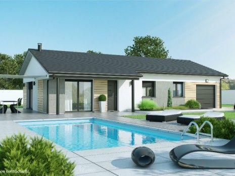 17 meilleures id es propos de maison plain pied sur pinterest. Black Bedroom Furniture Sets. Home Design Ideas