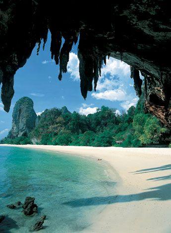 Phranang Beach, Krabi, Thailand
