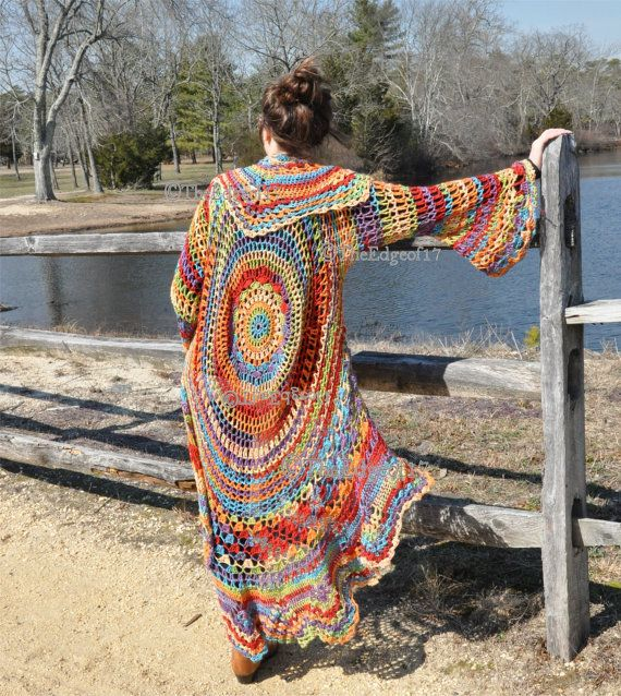 Bohemian Knitting Patterns : 17 Best images about Crochet on Pinterest Free pattern, Crochet flowers and...