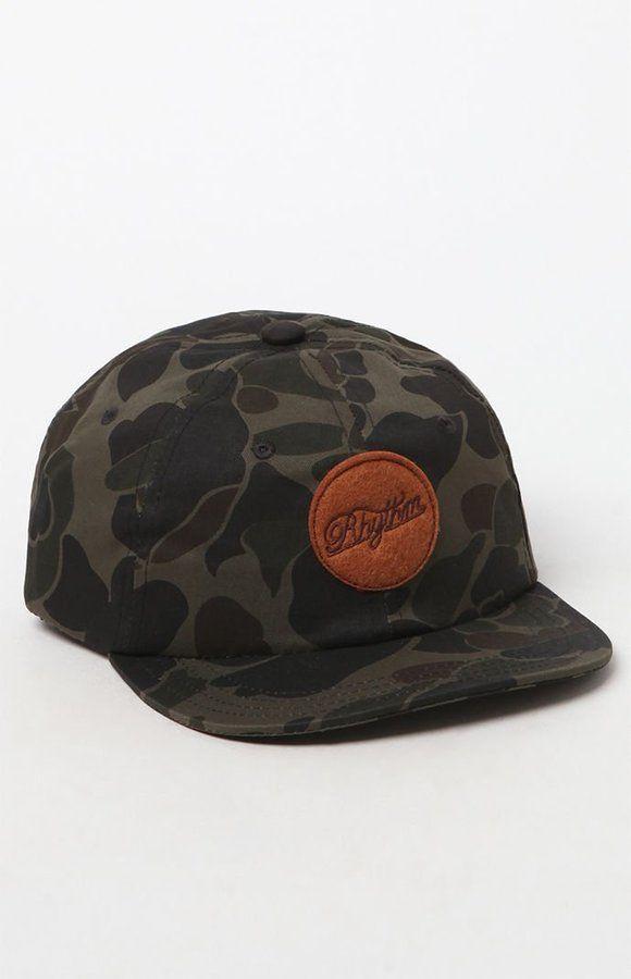 rhythm Circle Camouflage Strapback Hat