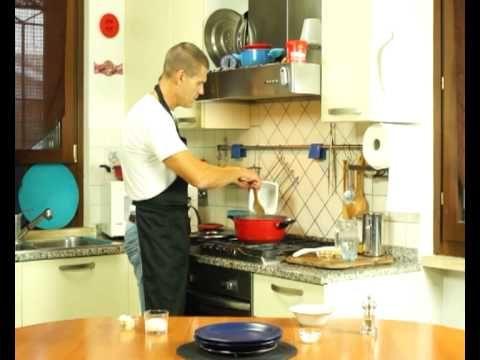 02 Il risotto al Gorgonzola di Dario fatto con Magic cooker, il coperchio magico