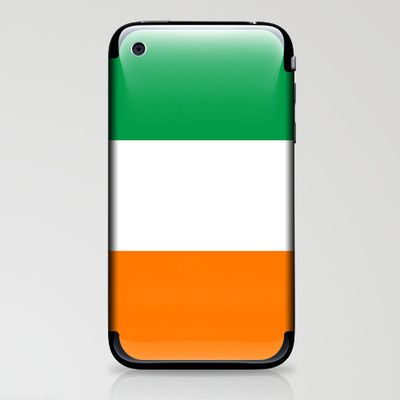 National flag of the Republic of Ireland - Authentic 3:5 Version iPhone & iPod Skin