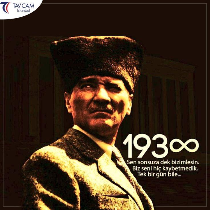 """Bu vatan senin gibi bir kahramanı ebediyen bir daha görmeyecek yerinde rahat uyu…"""" #10kasım #mustafakemal #atatürk #kemalatatürk #mustafakemalatatürk"""