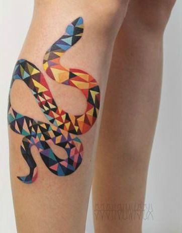 I want an ouroboros tattoo with that coloring of the snake, and a benzene ring in the middle.