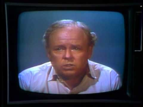 Archie Bunker's Editorial on Gun Control - YouTube