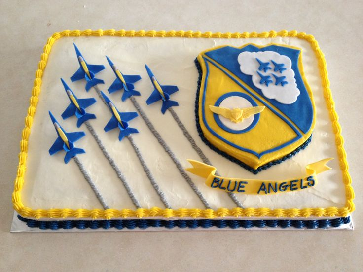 Birthday Cake Jet Blue