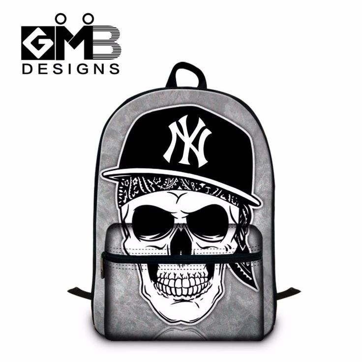 Fashionable Skull Bookbag for College stylish Back pack,School Backpacks for Boys,Cool Girl Mochila with Laptop compartment #Affiliate
