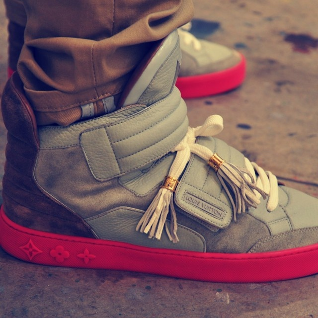 Louis Vuitton Kanye West JasperShoes, Fashion, Louis Vuitton, Kanye West, Style, West Jasper, Happening In West, Sneakers, Men Outfit