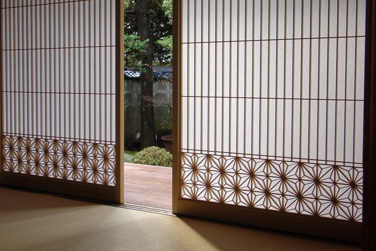 木製建具 住宅 引き戸 千本格子 組子欄間 株式会社タニハタ 富山県
