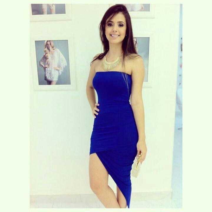 Mejores 23 imágenes de VESTIDOS AZULES en Pinterest | Vestidos ...