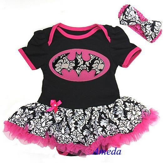 Monis Bows N More - Pink Baby Batgirl Set, $29.99 (http://www.monisbowsnmore.com/pink-baby-batgirl-set/)