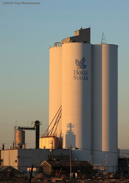 Holly sugar plant in Tracy California