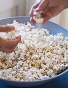 Barefoot Contessa Truffle Popcorn - My husband would go crazy for this.