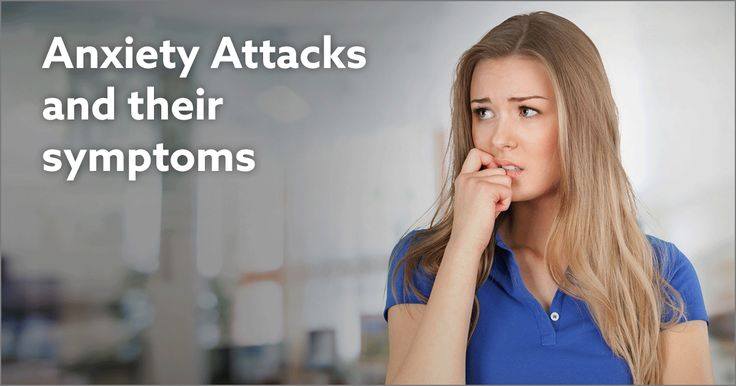 Anxiety Attacks and their symptoms listed, described, and explained.