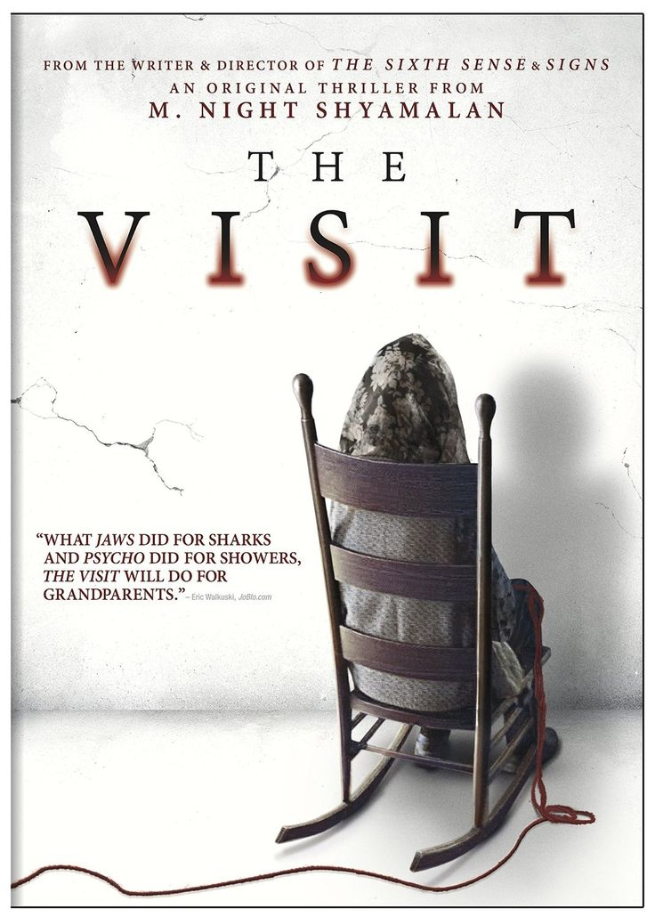The Visit by M. Night Shyamalan. Love to watch scary movies without zombies, werewolves, and vampires!