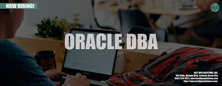 ORACLE DBA EXPERT | NEXT BPO Solutions | Business Process Outsourcing Philippines | BPO Company Philippines | Outsourcing Philippines | Outsurce Staff To Philippines | BPO Philippines #OracleDBA #OutsourcingPhilippines #BPOPhilippines #InformationTechnology #Jobs #NextBPOSolutions #WebDevelopmentServices | #TeamLeader Visit our website https://www.nextbposolutions.com/