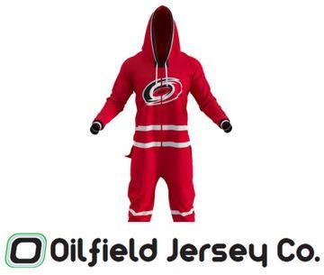 Hockey Sockey Onesie - Carolina Hurricanes