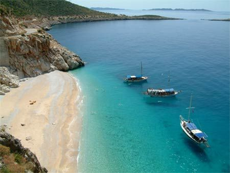 Kaputas, Mediterranean coast, Turkey