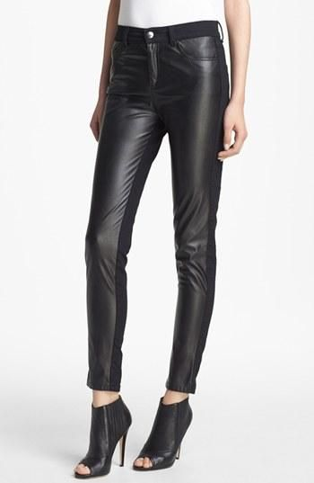 Fall must! Alexander McQueen Faux Leather Pants