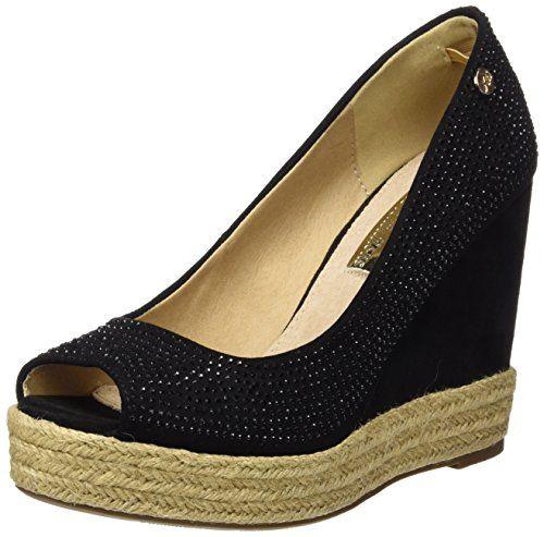XTI Zapatos de tacón – #Zapatos de #tacón para #mujer, color negro, talla 39