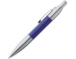 Metalowy długopis Eljot II to solidny gadżet przydatny na konferencjach jako firmowy gadżet. Długopis dostępny w czterech kolorach.