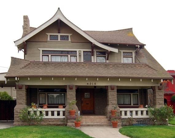 262 best images about bungalow homes on pinterest for Craftsman roofing