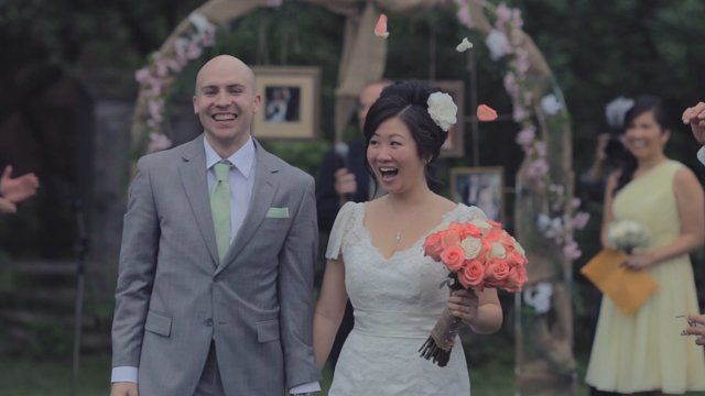 Our wedding video is finally here! For more on our video (and our big day), please check out www.henjofilms.com