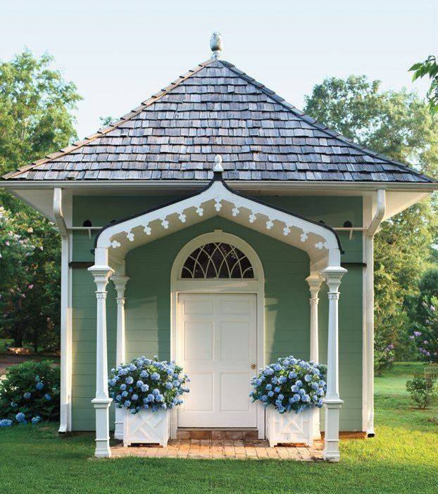 Garden Sheds With A Difference 1137 best jardin -- shed--patio--fence images on pinterest