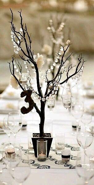 Aprovecha la belleza de las ramas secas para crear decoraciones para tu casa o para una celebración. Simplemente obtenlas de algun árbol y ...