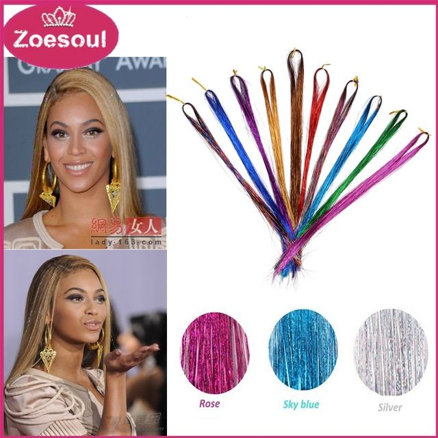 Wholesale Beyonce Clip In Synthetic Hair Extension Natural Bling String 3D Rainbow BellaVia Hair 100PCS Tinsel Hair + 5 PC Hooks,Wholesale Beyonce Clip In Synthetic Hair Extension Natural Bling String 3D Rainbow BellaVia Hair 100PCS Tinsel Hair + 5 PC Hooks,Always have your favorite color and suit you