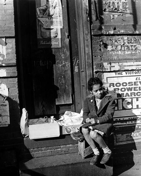 Arnold Eagle Young Girl, New York City 1948