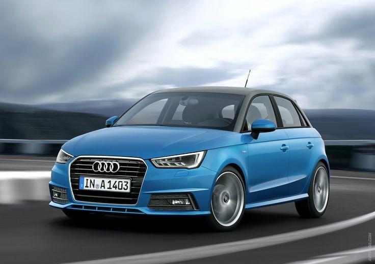 2015 Audi A1 Sportback  #Audi_A1 #German_brands #Los_Angeles_Auto_Show_2014 #Aud