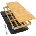 PlayStar Commercial Grade Floating Dock Kit, 4' x 10'