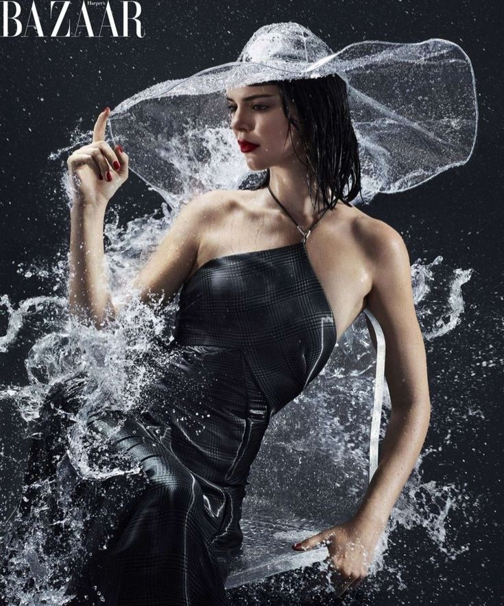 Stylist Anna Trevelyan styles Kendall Jenner in Prada, Ralph Lauren, Burberry and more for the Harper's Bazaar US February 2018 cover story, lensed by Sølve Sundsbø. Kendall Jenner Archives at AOC