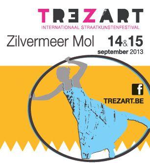 Trezart - Sherpa.be Tickets  Het Internationaal Straatkunstenfestival met een programma vol circus, straattheater, acrobatie, humor, moderne dans, hedendaagse kunst, ...   http://www.sherpa.be/nlBE/Festivals/Spektakel/Trezart---Dagticket-2013/
