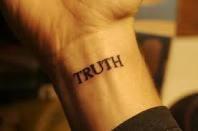 TruthTattoo Ideas, Wrist Tattoo, Inspiration Typography, Letters Tattoo, 69 Inspiration, Typography Tattoo, Tiny Tattoo, Beautiful Tattoo, Truths Tattoo