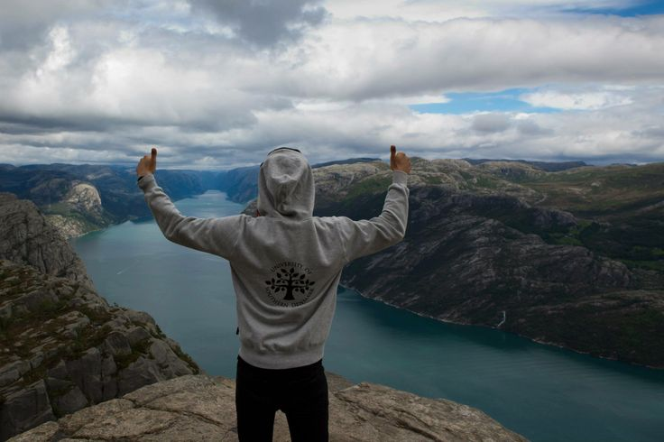 The #FamousSDUhoodie in #Norway, #University of Southern #Denmark https://www.facebook.com/unisouthdenmark