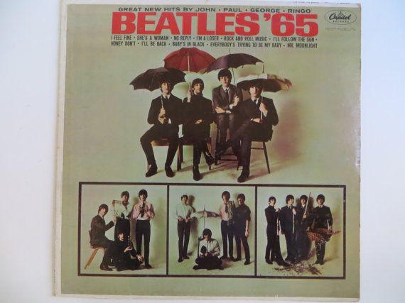 The Beatles 65 Lp Vinyl Original 1964 Mono The Beatles