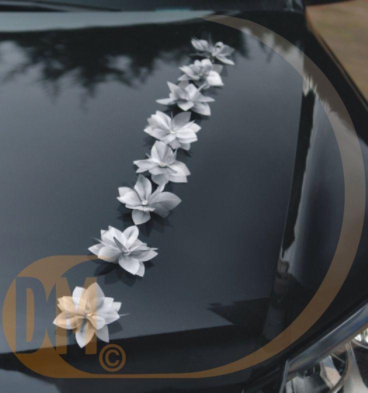 8 d co capot voiture fleur accessoires marie e s for Decoration et accessoires
