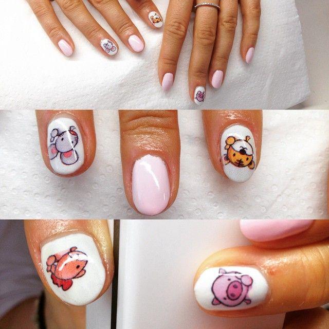 Cyfrowe zdobienie paznokci, niezliczona ilośc wzorów i kolorów.  #nailo #manicure #hybryda #wzorki #druk #kolor