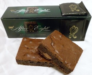 After Eight Chocolate Brownie