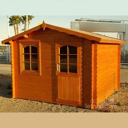 Drewniany domek ogrodowy (Wooden house) Hoby Ebro 7,8 m2