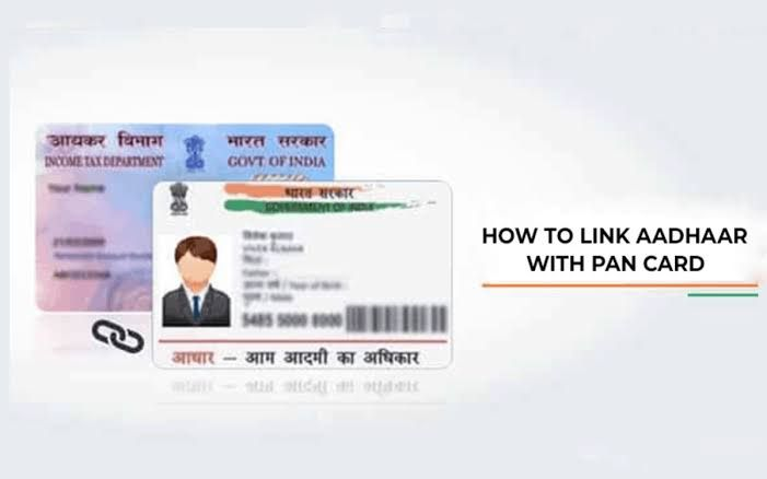 How To Link Adhar Number With Pan Check Link Status Pk Talks In 2021 How To Change Name Aadhar Card Cards