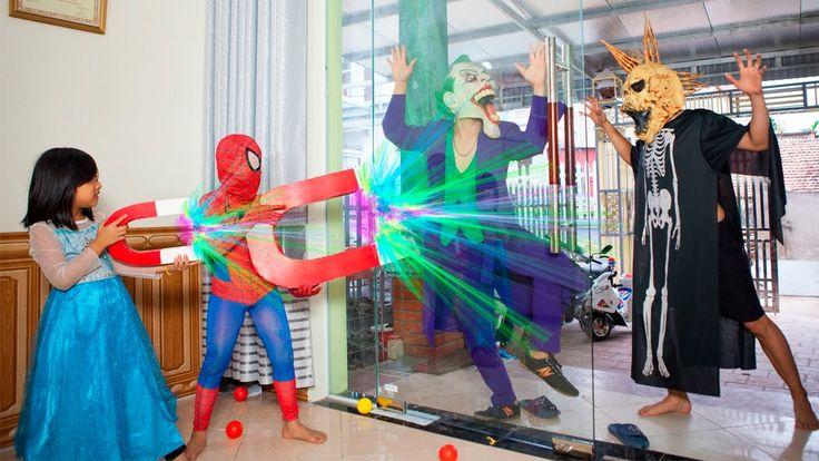 Joker arrested Venom kidnap Baby Elsa driver car Doctor Spiderman Inject...
