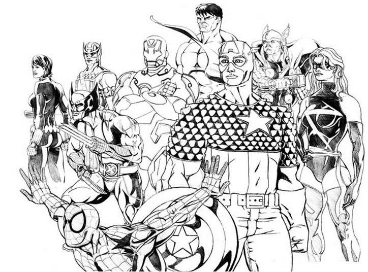 Malvorlagen Kostenlos Marvel Beautiful Ausmalbilder Von: 31 Besten Super Heros Bilder Auf Pinterest