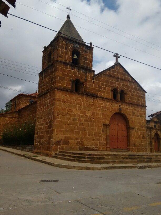 Zapatoca, Santander, iglesia Santa Barbara