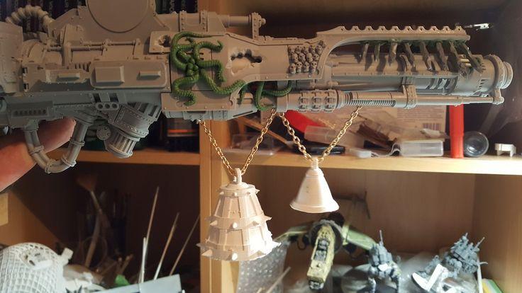 Warhammer 40k Chaos Warlord Titan Conversion