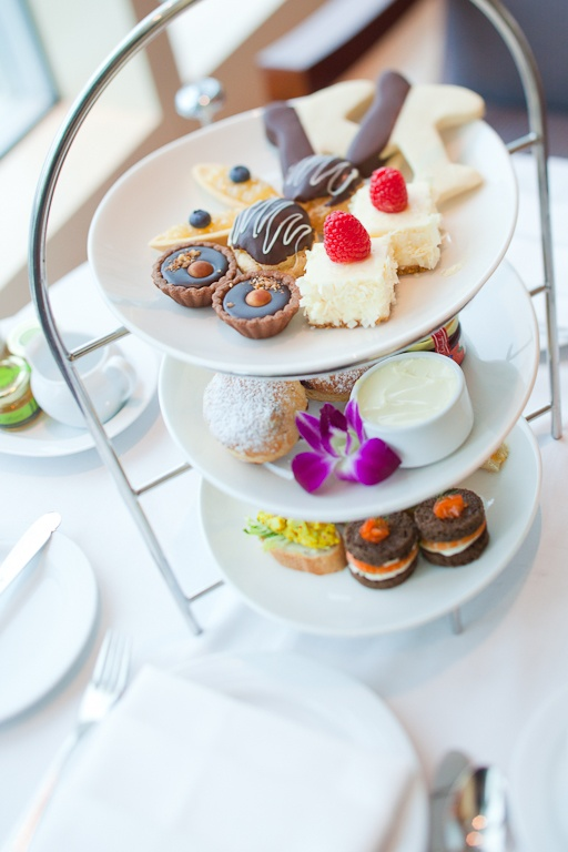 Afternoon Tea at The Fairmont Vancouver Airport