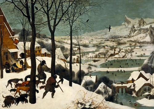 Jäger im Schnee (Winter) | Pieter Bruegel d. Ä. | 1565 datiert |  Wien, Art historical museum 12/2013