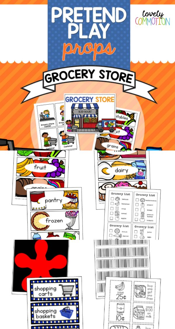 25 Best Ideas About Play Grocery Store On Pinterest